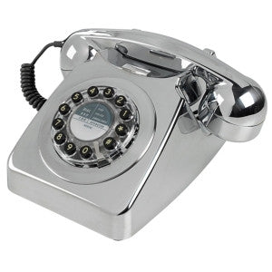 Series 746 Chrome Brushed Telephone | Wild and Wolf -  Bloomsbury Store