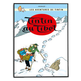 Tintin Poster - Tintin in Tibet (1960) - Framed Bloomsbury Store - 2