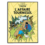 Tintin Poster | L'Affaire Tournesol - Framed Bloomsbury Store - 2