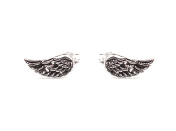 Silver Wing Studs Silver Service -  Bloomsbury Store