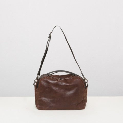 Ally Capellino Abigail Boxy OS Bag | Brown -  Bloomsbury Store - 1