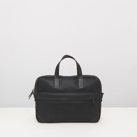 Ally Capellino Robin Briefcase | Black AW15 -  Bloomsbury Store - 1