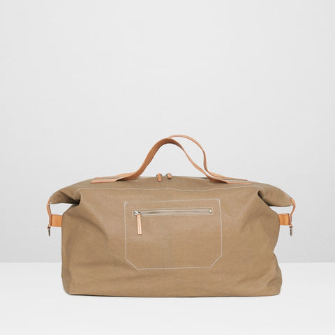 Ally Capellino Arron Canvas Bag | Beige SS16 -  Bloomsbury Store - 1