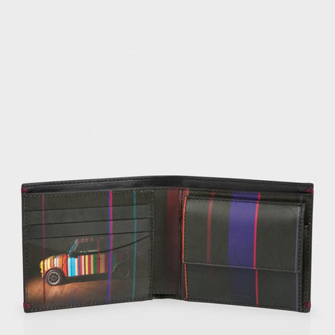 Paul Smith Accessories | Mini Graphic Edge Wallet With Coin Wallet -  Bloomsbury Store - 1