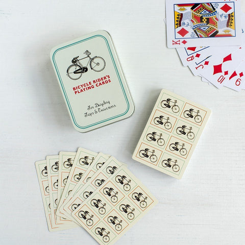 Bicycle Playing Cards in a Tin  | Bloomsbury Store - 1