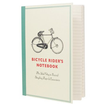 Bicycle Rider's Notebook A6 -  Bloomsbury Store