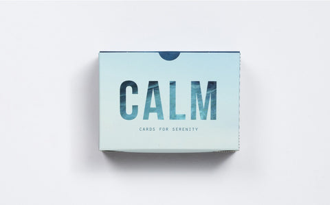 Calm Prompt Cards | School of Life  | Bloomsbury Store - 1