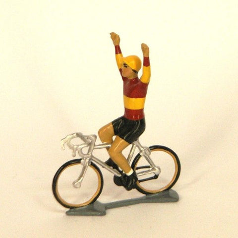 Cycling Figure | Champion d'Espagne Hands Up -  Bloomsbury Store