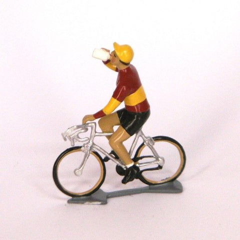 Cycling Figure | Champion d'Espagne Drinking -  Bloomsbury Store