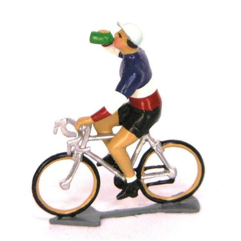 Cycling Figure | Champion de France Drinking -  Bloomsbury Store