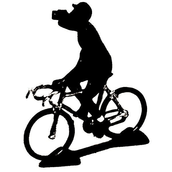 Cycling Figure | Spotted Jersey Drinking -  Bloomsbury Store