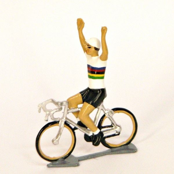 Cycling Figure | Du Monde Hands Up -  Bloomsbury Store