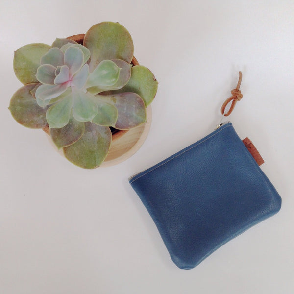 Esther | Coin Purse - Blue Bloomsbury Store - 6