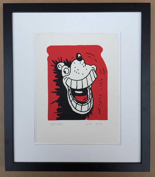 Beano Print | Gnasher Gnashes Framed -  Bloomsbury Store
