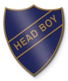 Head Boy School Badge | Wild and Wolf -  Bloomsbury Store