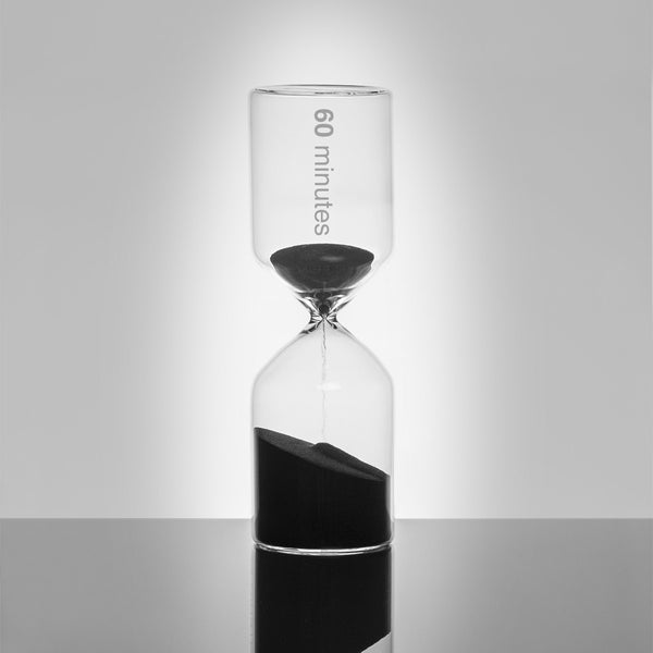 Hour Glass Sand Timer | 60 Mins -  Bloomsbury Store