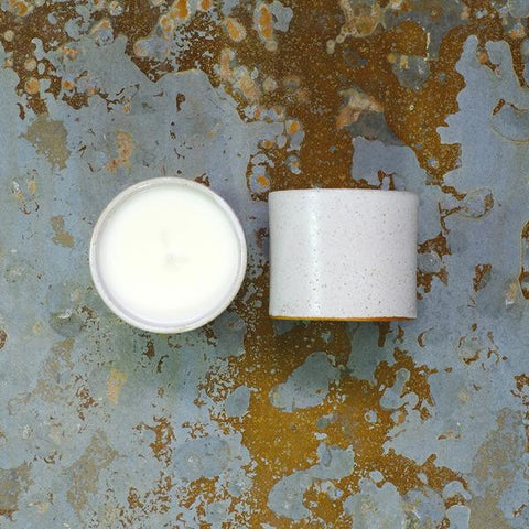 Kiln Collection Ceramic Pot Candle | Parkminster Cucumber & Mint | Bloomsbury Store - 1