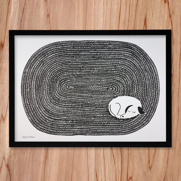 Dog Tired Print  | Bloomsbury Store - 1
