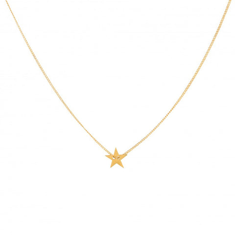 Necklace Little Star | Gold Plated -  Bloomsbury Store