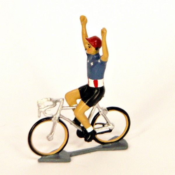 Cycling Figure | USA Hands Up -  Bloomsbury Store