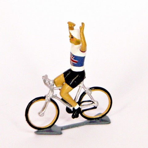 Cycling Figure | Anglaise Hands Up  | Bloomsbury Store