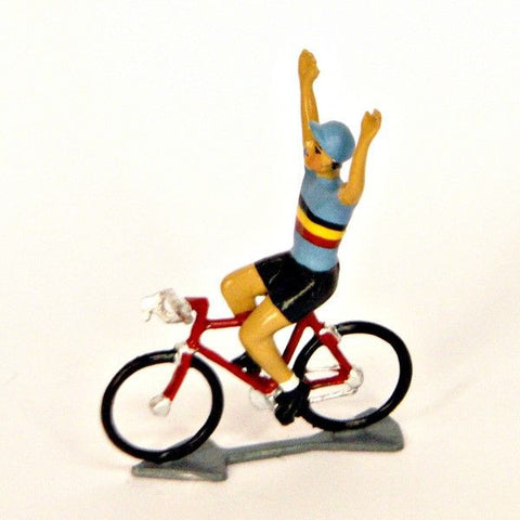 Cycling Figure | Belgique Hands Up -  Bloomsbury Store