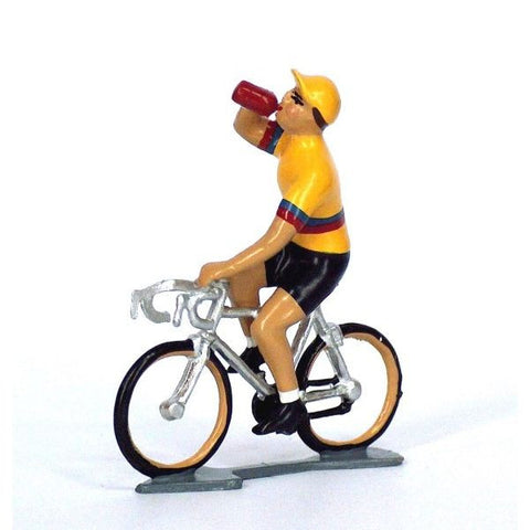 Cycling Figure | Colombien Drinking -  Bloomsbury Store