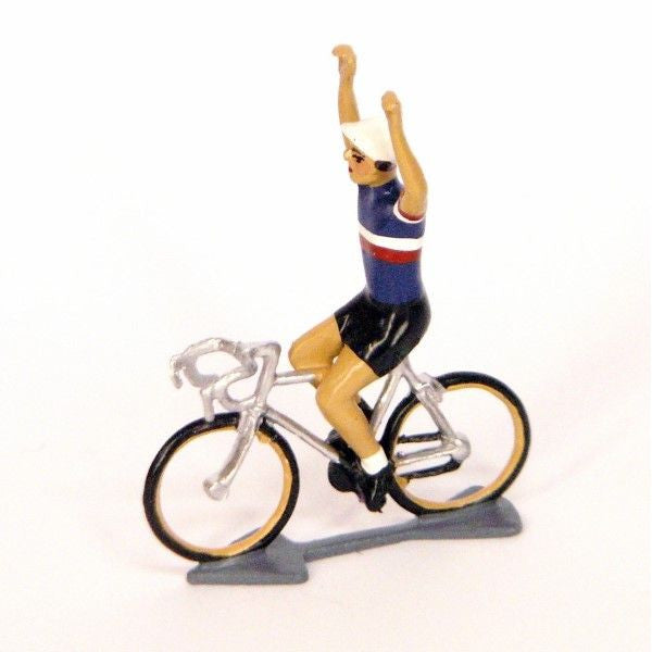 Cycling Figure | Francais Jersey Hands Up -  Bloomsbury Store