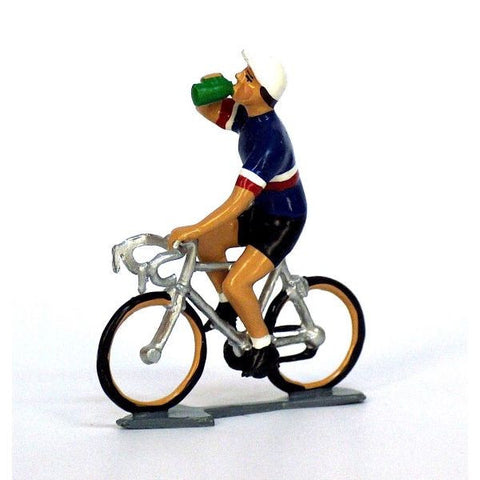 Cycling Figure | Francais Jersey Drinking -  Bloomsbury Store