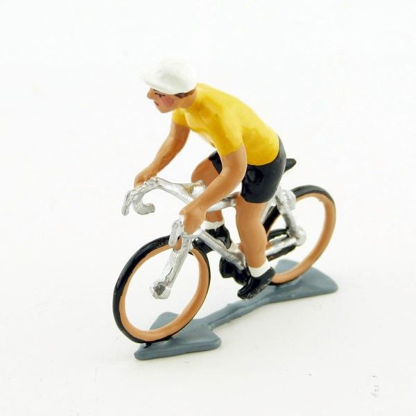 Cycling Figure | Yellow Jersey Standing on pedals -  Bloomsbury Store