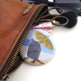 Cornelius Pocket Mirror | Fawn and Thistle  | Bloomsbury Store - 1