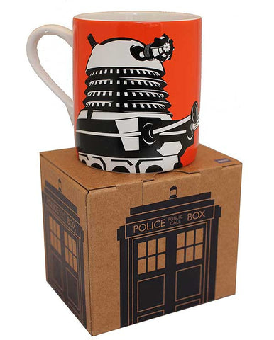 Doctor Who | Dalek Orange Mug -  Bloomsbury Store