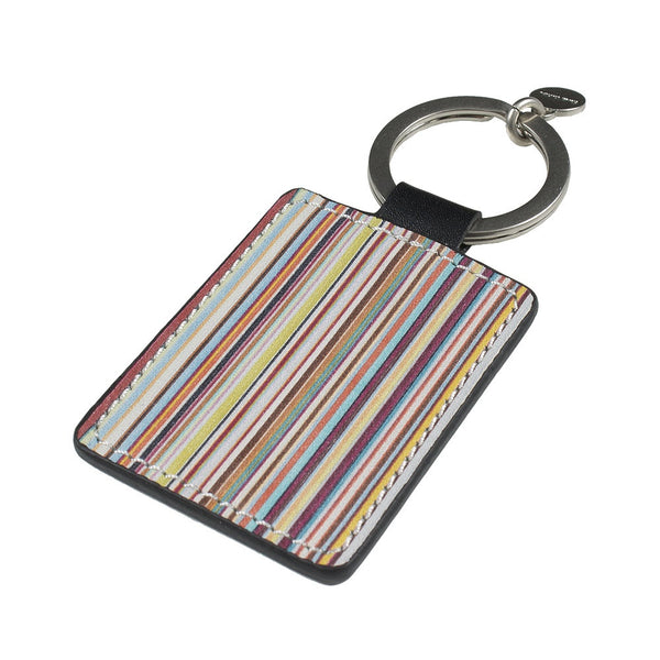 Paul Smith Accessories | Keyring Multistripe Leather -  Bloomsbury Store - 1