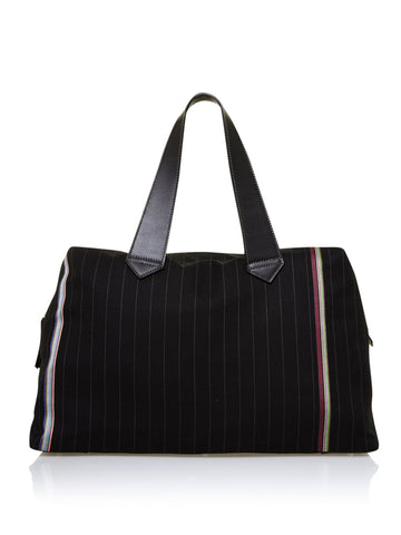 Paul Smith Accessories | Black Holdall Maharam Bag  | Bloomsbury Store - 1