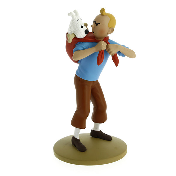 Tintin Model | Tintin Carrying Snowy -  Bloomsbury Store