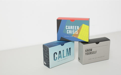 Career Crisis Prompt Cards | School of Life  | Bloomsbury Store - 1