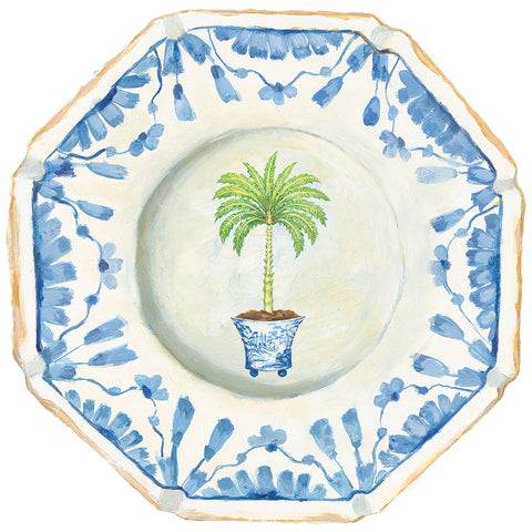 Palm China Die-cut Placemat