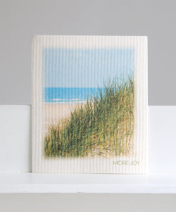 sea view dishcloth