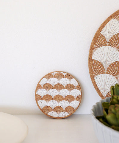 Scallop Coaster