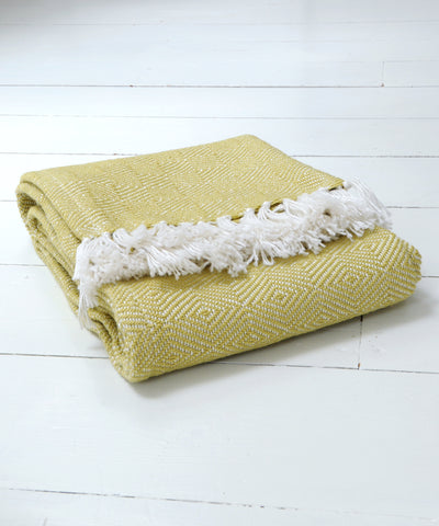 Gooseberry Diamond Blanket