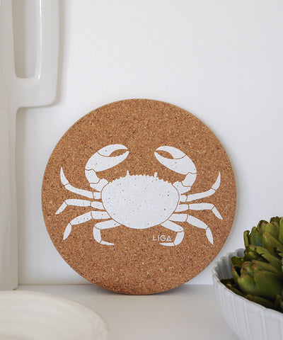 Crab Cork Placemat