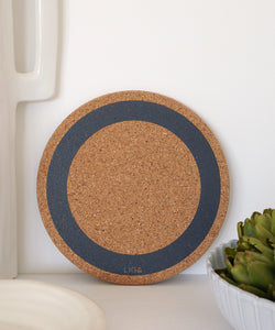 Grey Earth Cork Placemat