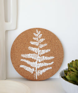Fern Cork placemat