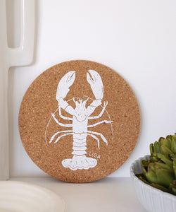 Lobster cork placemat
