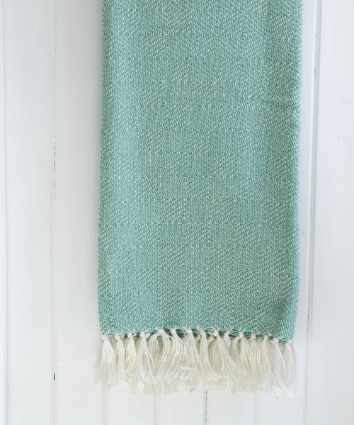 Teal Diamond Blanket