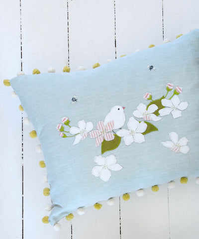 Apple Blossom Cushion