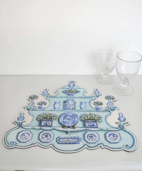 china cabinet placemat