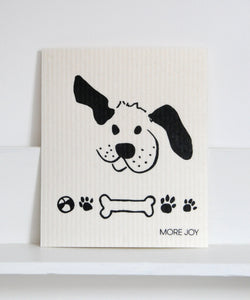Dog & Bone Dishcloth