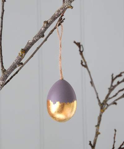 purple gold egg