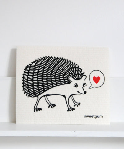 Hedgehog Dishcloth